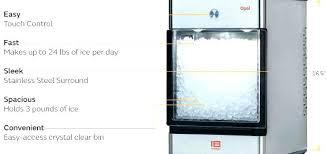ice maker and water dispenser parts cream countertop magic chef