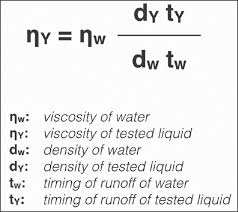 figure 2 equation for determination of the coefficient of viscosity when viscosity is known