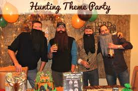 camouflage hunting theme party fun happy and blessed home