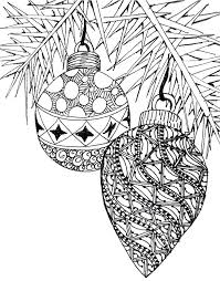 Christmas Tree Coloring Pages For Adults Adult Coloring Pages