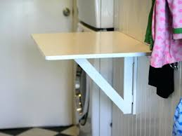 foldable wall table pallet laundry room clothing design optional item decent fold down wall table for foldable wall table