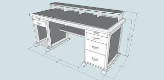 l shaped computer desk plans l shaped desk plans free toadd stylish computer desk plans