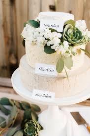 10 Simple Greenery Wedding Cake Decor Ideas Mywedding