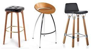 Designer Bar Stools Brilliant Modern Italian Stool Wood Legs Felt Or  Leather Upholstery With Regard To 0 ...