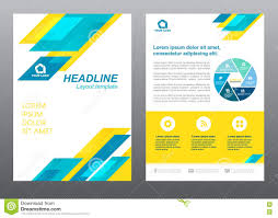 cover page design stock photography image 27627192 layout flyer template size a4 cover page blue and yellow stripe vector design stock images