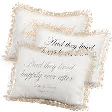 lived happily ever after pillows