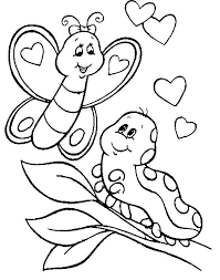 Small Picture Caterpillar coloring pages on branch ColoringStar