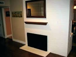electric fireplace without mantle mantel only height uk ideas
