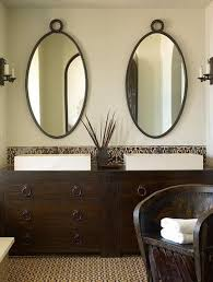 Oval Beveled Tilt Bathroom Mirrors Bathroom Vanities Mirror Ideas