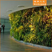 artificial grass plant wall