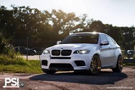 Matte White BMW X6 M by Precision Sport Industries - GTspirit
