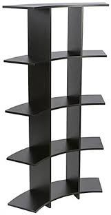 Curved Wooden Shelves Easy to Assemble Easy Assembly Curved Wooden Shelves  ...