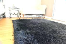 black fur rug black fur rug photo 1 of 5 awesome black furry rug 1 faux black fur rug