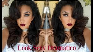 maquillaje y dramatico dramatic glam makeup tutorial auroramakeup