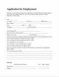 Resume Application Form Sample Awesome Nice Sample Resume For