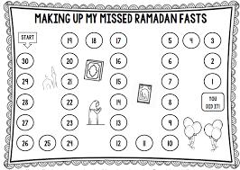 Making Up Missed Fasts Of Ramadan Tj Ramadan