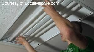 how to install or change fluorescent bulbs in recessed office fluorescent lighting you
