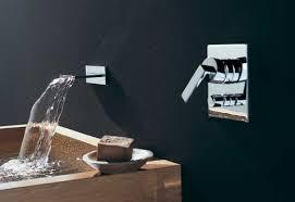 mem wall mounted waterfall bath spout