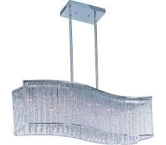 maxim 39707clpc swizzle crystal chandelier light 16lt 400 watts halogen polished chrome