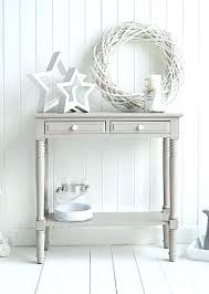 hallway console table. Grey Console Table The Oxford Decorate Your Home In Whites And Hallway