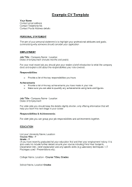 Guide Examples A Hard Copy Resume Popular Sample Cv Template