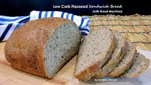 Add ingredients in the order they are listed. Low Carb Flaxseed Sandwich Bread With Bread Machine Dietplan 101 Com Youtube