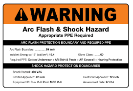 Arc Flash Clothing Rating Chart Arc Flash Label Requirements 2018 Updates Creative