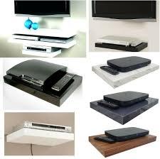 floating wall mount shelf dvd tv