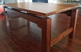 solid walnut coffee table first fine woodworking project complete