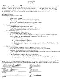 sample of contracts sample group contract