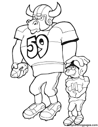 Nfl Coloring Pages Bestofcoloringcom