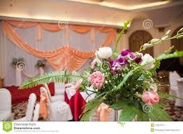 Wedding Flowers Decoration Wedding Flower Decoration Indoor Stock Photos Image 16537513