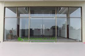 glass office front door and manufacturer commercial exterior commercial frameless glass doors