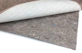 duo lock felt and rubber non slip area rug pad 1 4 thick felt rubber non slip area rug pad