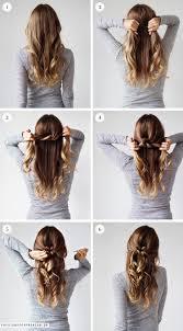 An Easy Hairdo For Christmas Christina Dueholm Kapsels Lang