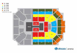 Keybank Center Seating Chart With Seat Numbers Unique