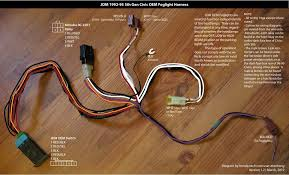 honda civic fog light harness diagram honda tech oem jdm foglight wiring in 5th generation honda civic