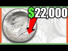 1964 Kennedy Half Dollar Accented Hair Value Chart 1964 Kennedy Silver Half Dollars Worth Money Valuable