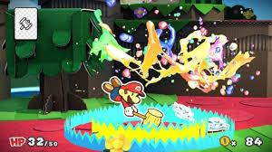 paper mario color splash review for