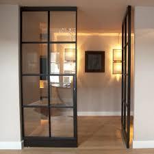 Glazen Scheidingswand Woonkamer Beste Stalen Klapdeur Met Glas Doors