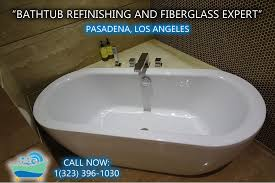 bathtub refinishing reglazing pasadena
