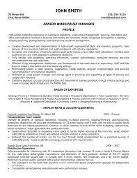 Warehouse Lead Resume Warehouse Supervisor Resume Sample Warehouse Custom Warehouse Supervisor Resume