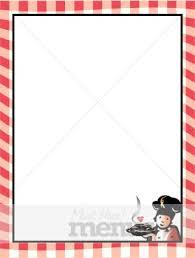 christmas menu borders menu border clipart