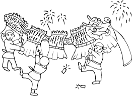 Lunar New Year 2016 Coloring Pages