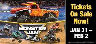 Monster Jam Triple Threat Series Dunkin Donuts Center