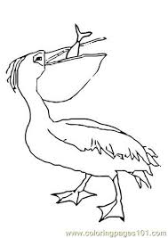 Small Picture Pelican eat fish Coloring Page Free Pelican Coloring Pages
