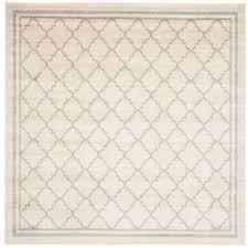 amherst beige light gray 5 ft x 5 ft indoor outdoor square