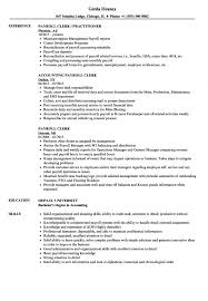 Payroll Clerk Resume Samples Velvet Jobs Office Assistant Sample In