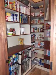 pantry shelves creative ideas for more inspiring pantry storage. Great Walk-in Pantry Enables You To Supply Foods As Many Possible: Awesome White Wooden Style Design Ktchen Walk In Shelving Ideas ~ ENTERNY Shelves Creative For More Inspiring Storage A