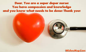 Thank You Notes For Nurses Thank You Messages For Nurses Appreciation Quotes Wishesmsg